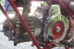 Der Motor ist eine Wuchtbrumme