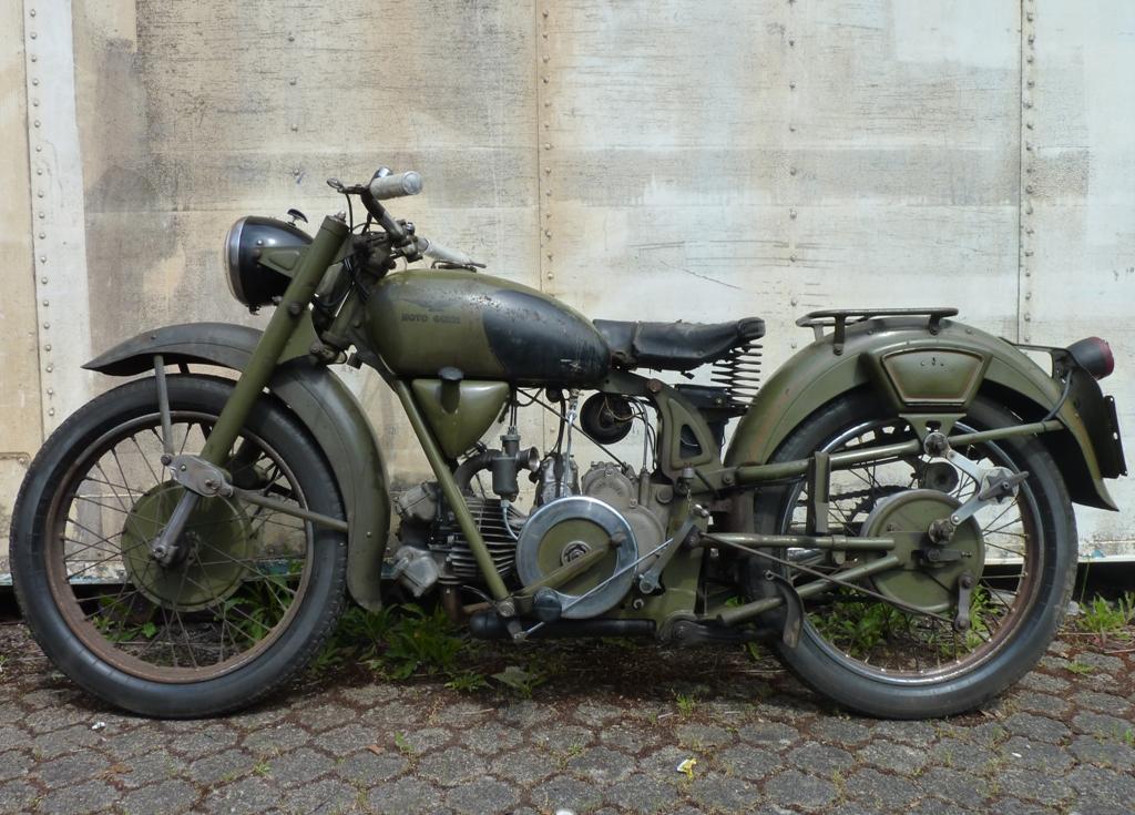 1956 Moto Guzzi Airone Sport L Side - Classic Sport Bikes
